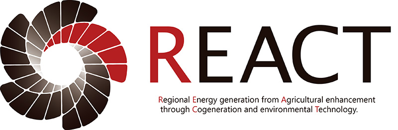 REACT BIOGAS - Regional Energy generation from Agricultural enhancement through Cogeneration Technology and environmental plant engineering.